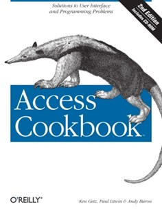 (ebook) Access Cookbook - Computing Database Management