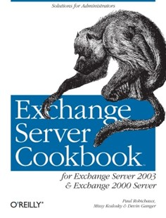 (ebook) Exchange Server Cookbook - Computing Operating Systems