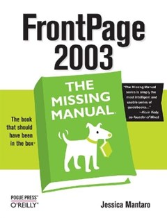 (ebook) FrontPage 2003: The Missing Manual