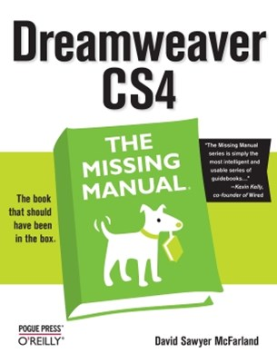 (ebook) Dreamweaver CS4: The Missing Manual