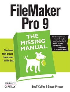 (ebook) FileMaker Pro 9: The Missing Manual - Computing Database Management