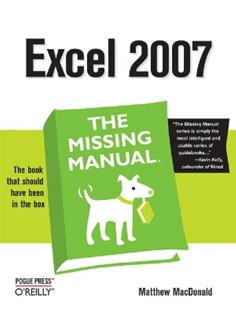 (ebook) Excel 2007: The Missing Manual - Computing Operating Systems