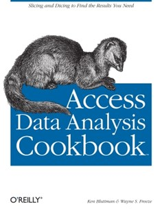 (ebook) Access Data Analysis Cookbook - Computing Database Management