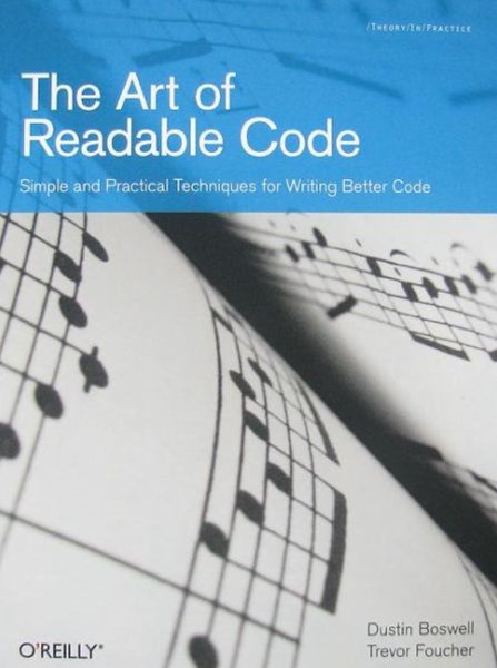 Art of Readable Code