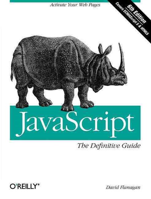 JavaScript: The Definitive Guide 6/e