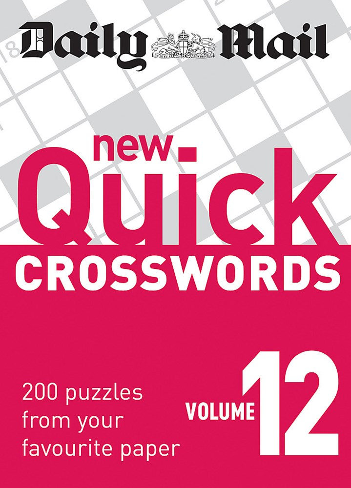 Daily Mail: New Quick Crosswords 12