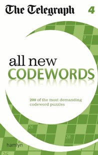 The Telegraph All New Codewords 4 by THE TELEGRAPH (9780600629368) - PaperBack - Craft & Hobbies Puzzles & Games