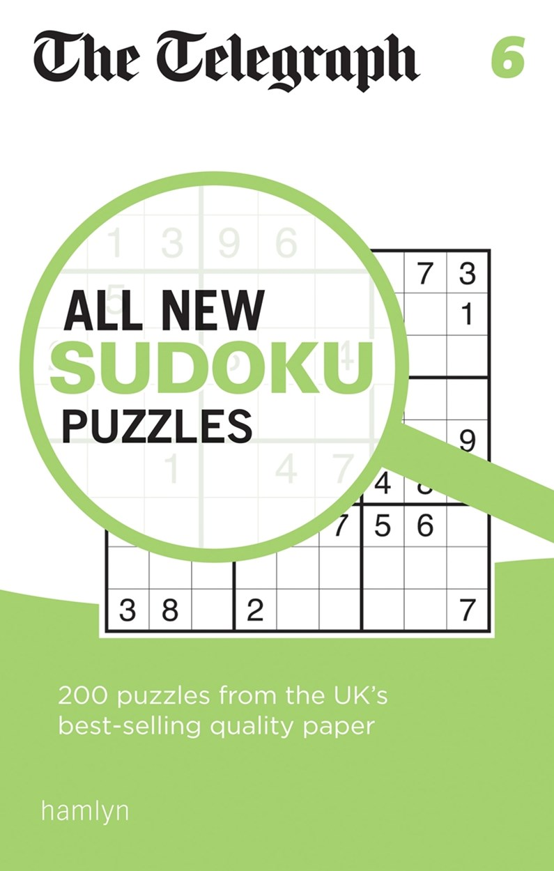 The Telegraph All New Sudoku Puzzles 6