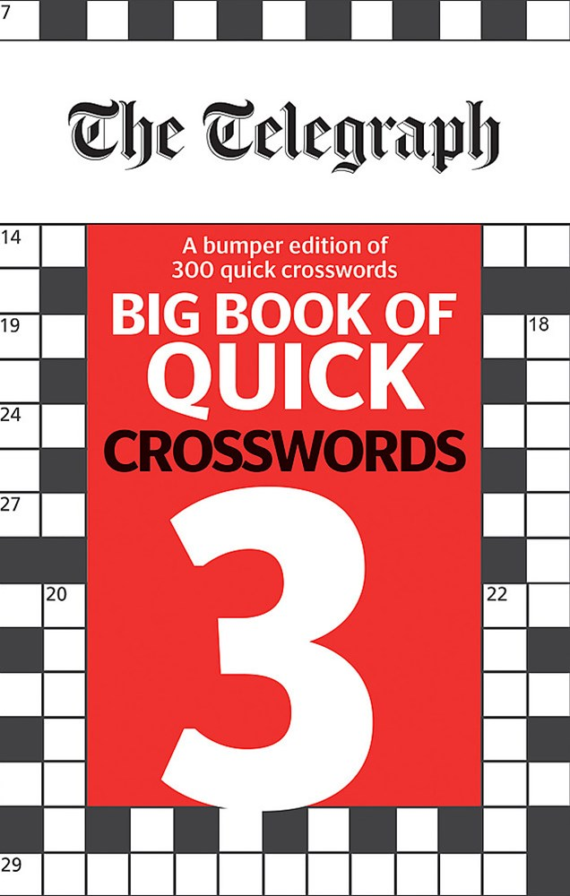The Telegraph Big Book of Quick Crosswords 3