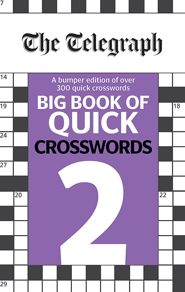 The Telegraph Big Book of Quick Crosswords 2