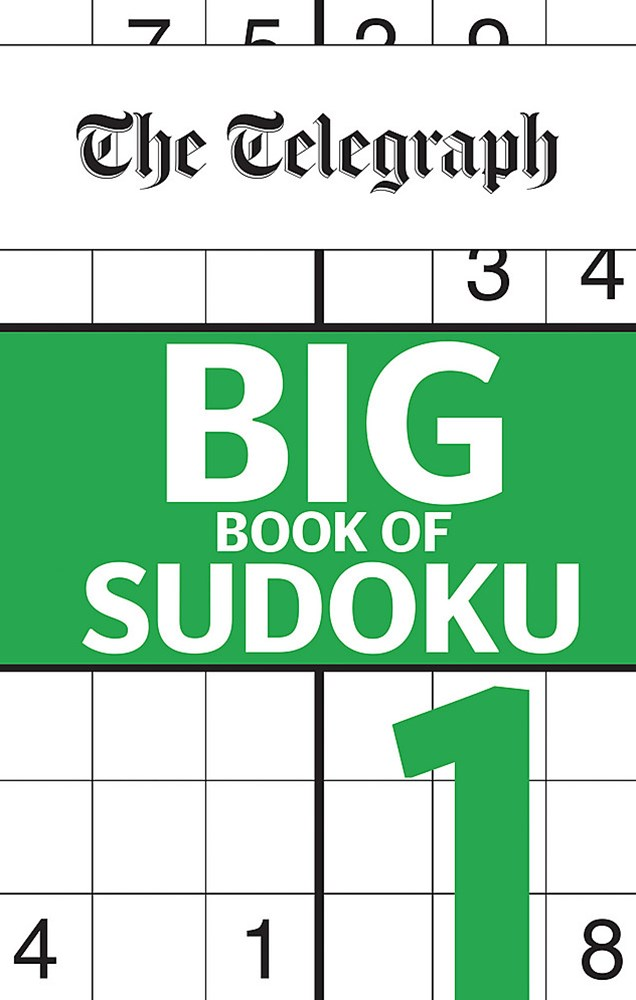 The Telegraph Big Book of Sudokus 1