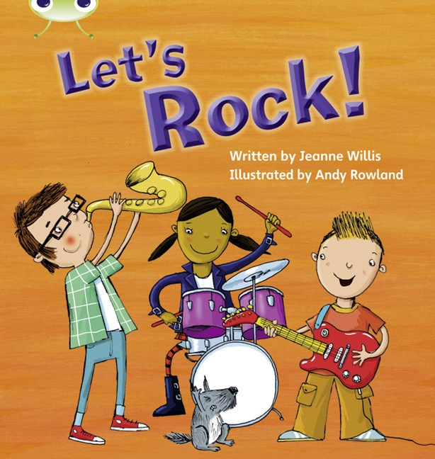 Phonics Bug Phase 3: Let's Rock (Reading Level 3/F&P Level C)