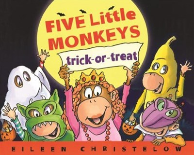 Five Little Monkeys Trick-or-treat