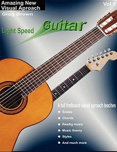 Light Speed Guitar Vol. 1 by Greg Brown (9780615237152) - PaperBack - Education Trade Guides