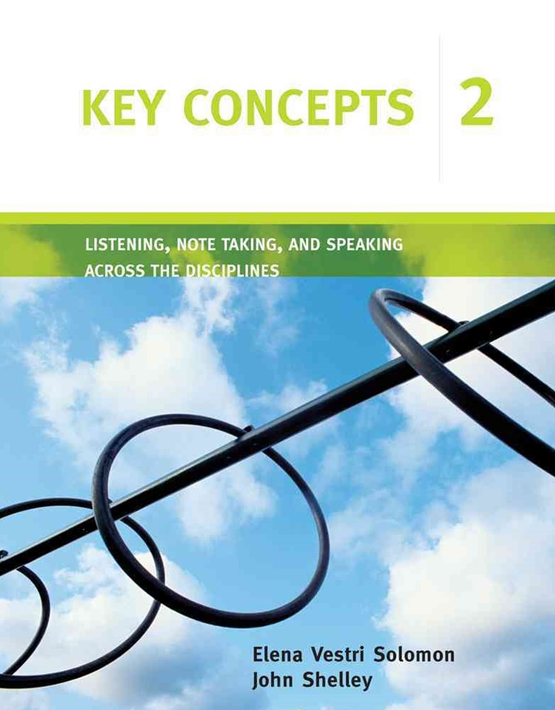 Key Concepts 2 : Listening, Note Taking, and Speaking Across the  Disciplines