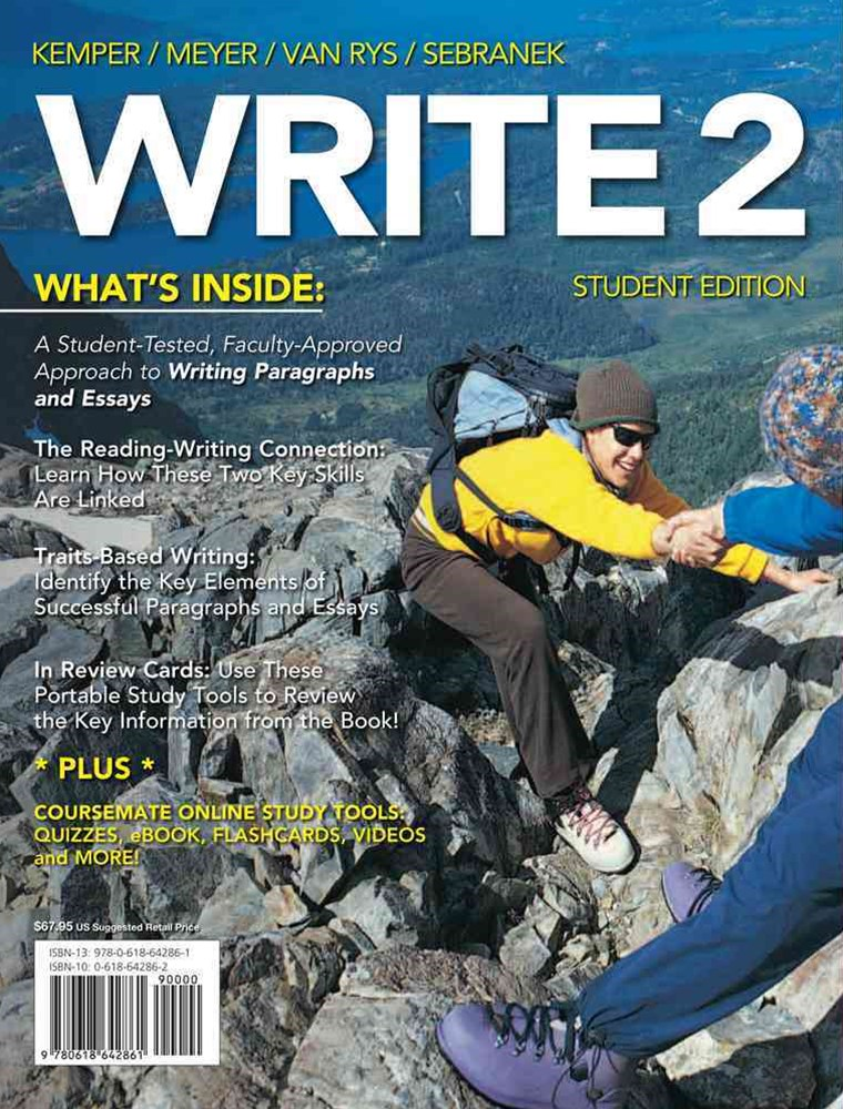 WRITE2 (with CourseMate Printed Access Card)