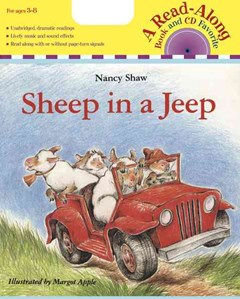 Sheep in a Jeep Book & Cd