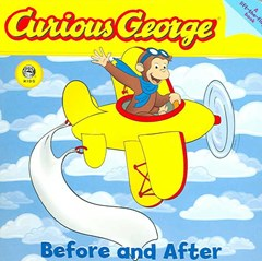 Curious George Before and After Board Book