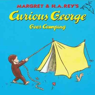Curious George Goes Camping Book and  CD