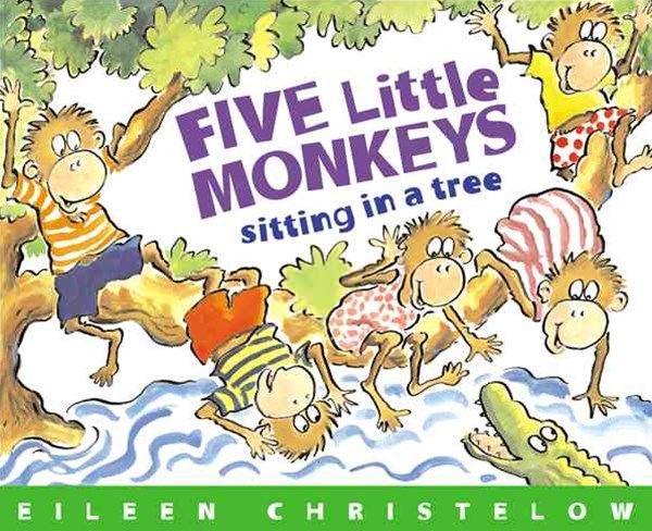 Five Little Monkeys Sitting in a Tree Book & Cd