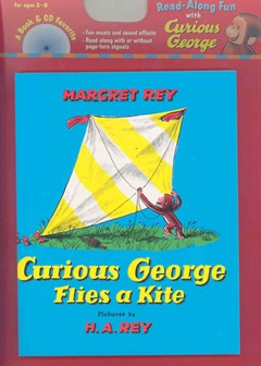 Curious George Flies a Kite Book & Cd