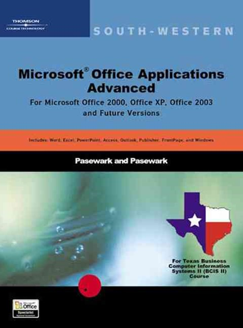Microsoft Office Applications Advanced