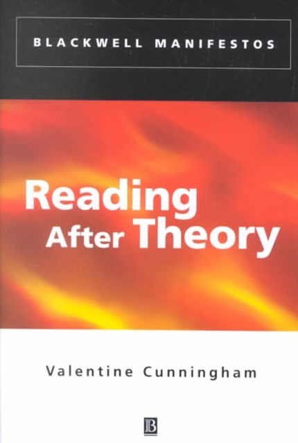 Reading After Theory