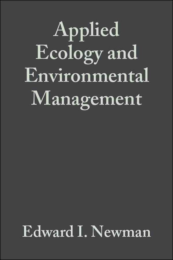 Applied Ecology and Environmental Management 2E