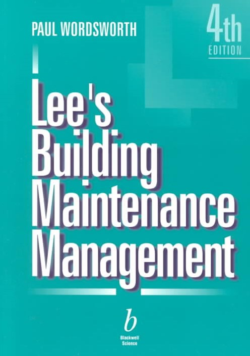 Lee's Building Maintenance Management 4E