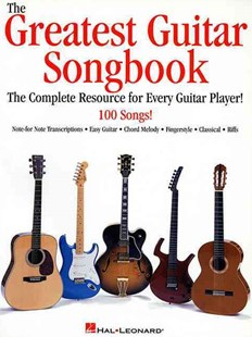 The Greatest Guitar Songbook by Hal Leonard Publishing Corporation (9780634000171) - PaperBack - Entertainment Music General