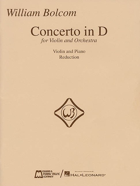 Concerto in D for Violin and Orchestra