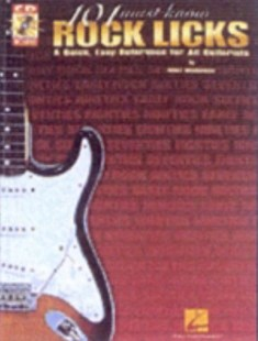 101 Must-Know Rock Licks by Wolf Marshall, Wolf Marshall (9780634013706) - PaperBack - Entertainment Music General