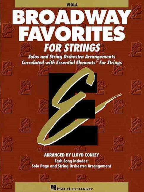 Essential Elements Broadway Favorites for Strings