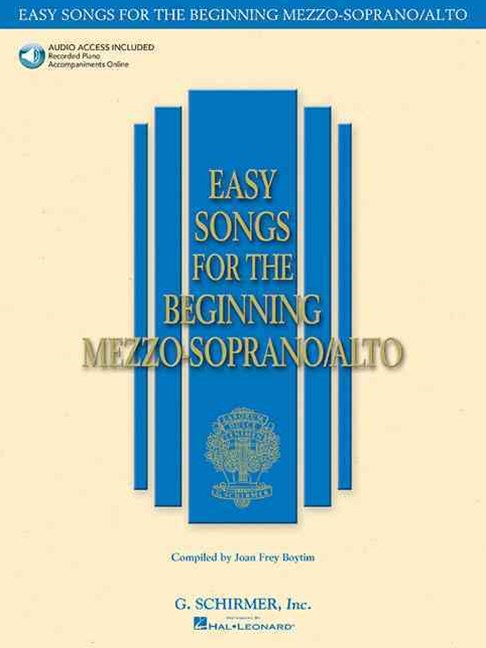 Easy Songs for the Beginning Mezzo-Soprano/Alto