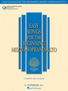 Easy Songs for the Beginning Mezzo-Soprano/Alto by Joan Frey Boytim, Joan Frey Boytim (9780634019708) - PaperBack - Entertainment Music General