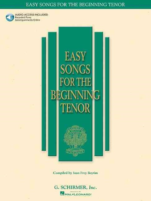 Easy Songs for the Beginning Tenor