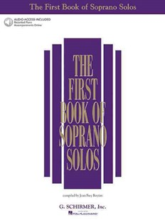 The First Book of Soprano Solos by Joan Frey Boytim, Joan Frey Boytim (9780634020469) - PaperBack - Entertainment Music General