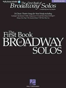 The First Book of Broadway Solos by Joan Frey Boytim (9780634022814) - PaperBack - Entertainment Music Technique