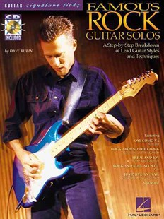 Famous Rock Guitar Solos by Dave Rubin, Dave Rubin (9780634023392) - PaperBack - Entertainment Music Technique