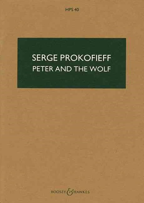 Peter and the Wolf/Pedro y El Lobo, Opus 67
