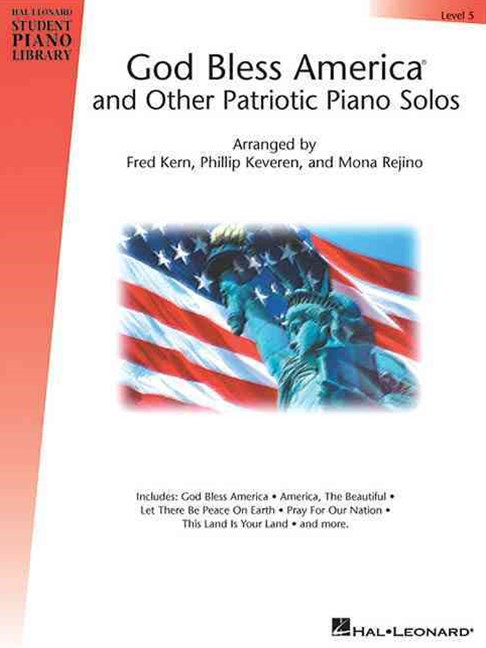 God Bless America and Other Patriotic Piano Solos, Level 5