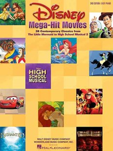 Disney Mega Hit Movies by  (9780634045141) - PaperBack - Entertainment Film Writing