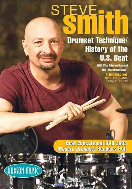Steve Smith - Drum Set Technique - History of the U. S. Beat