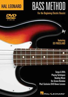 Hal Leonard - Bass Method by Ed Friedland (9780634080340) - HardCover - Entertainment Music Technique