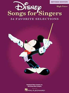 Disney Songs for Singers by Hal Leonard Publishing Corporation (9780634081521) - PaperBack - Entertainment Music General