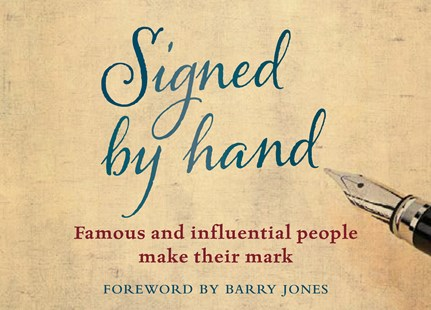 Signed by Hand by National Library of Australia, Barry Jones (9780642279149) - HardCover - Art & Architecture General Art