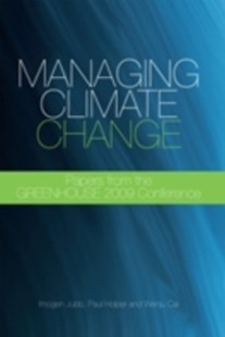 (ebook) Managing Climate Change - Science & Technology Environment