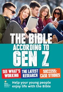 (ebook) Bible According to Gen Z - Religion & Spirituality Christianity