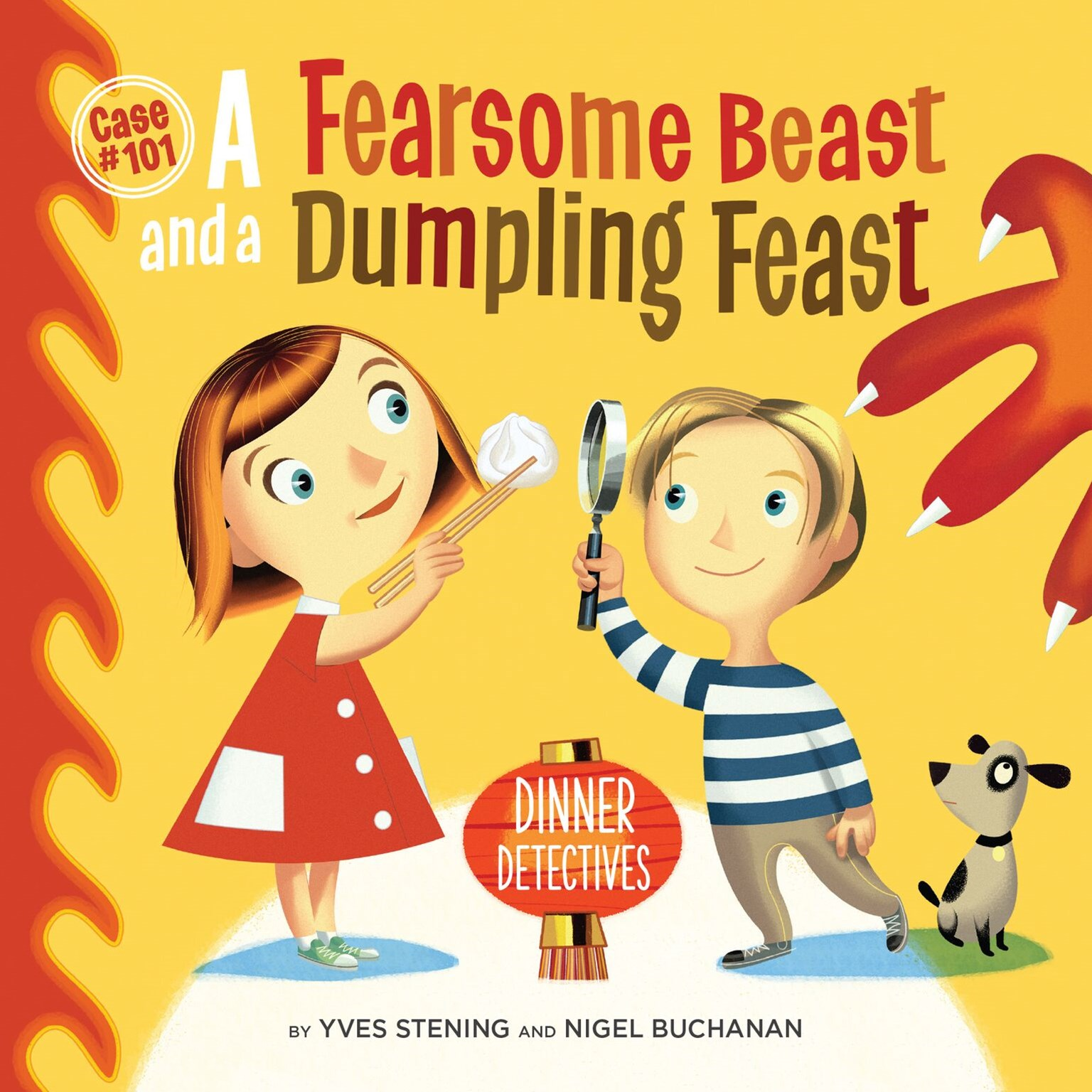 Dumpling demonstration & reading with Yves Stening