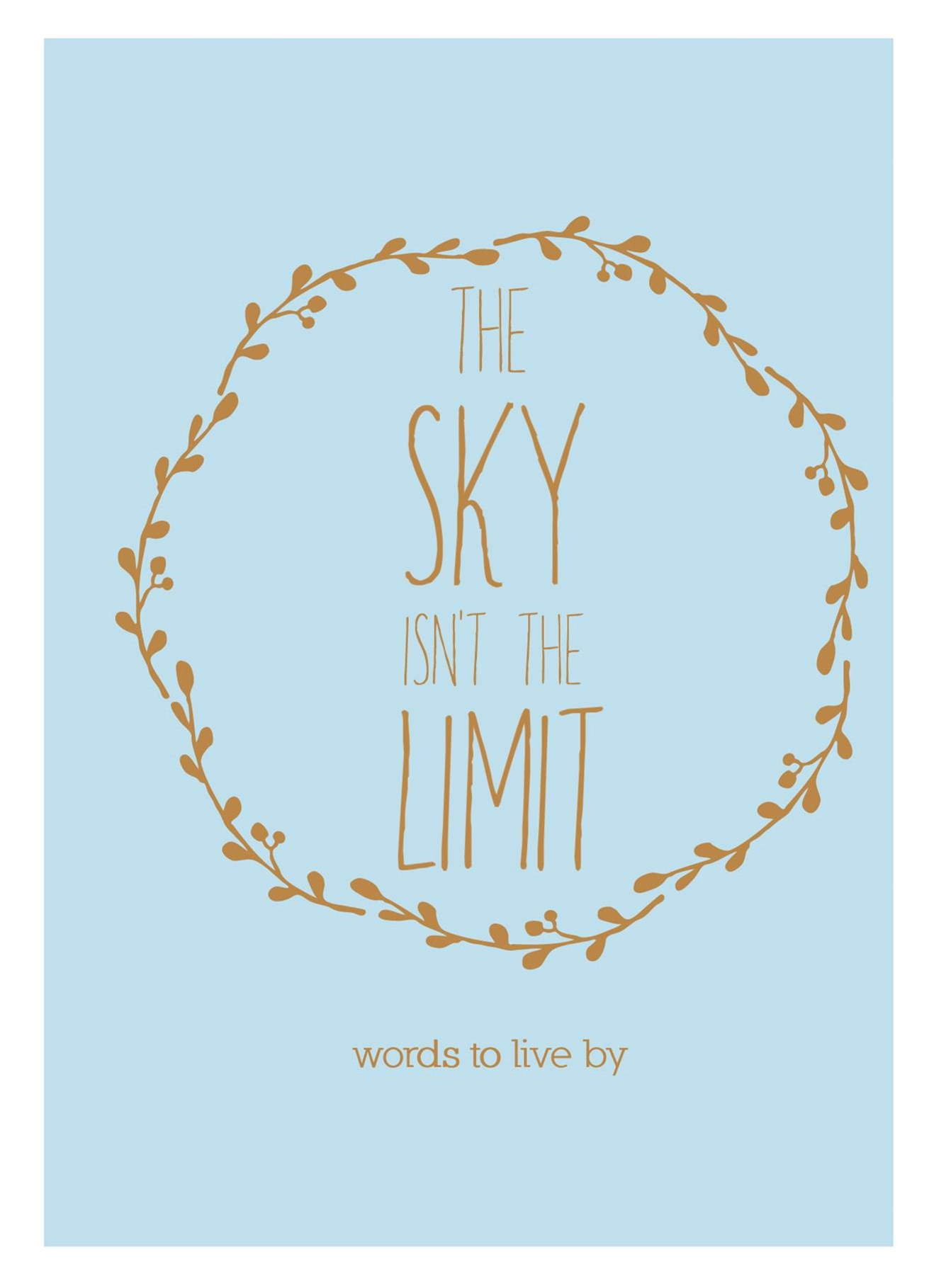 The Sky Isn't The Limit